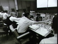 mission control in Houston