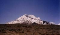 De Chimborazo in Ecuador