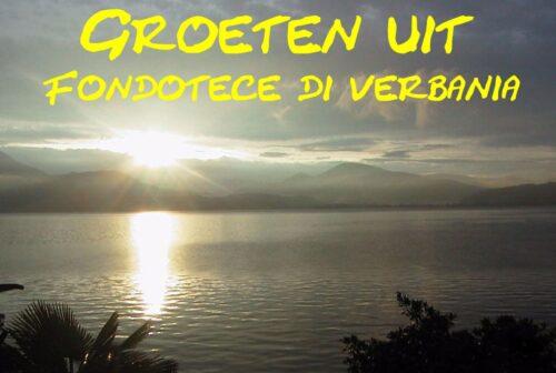 groeten uit Fondotece di Verbania