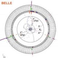 Verval van deeltjes in Belle