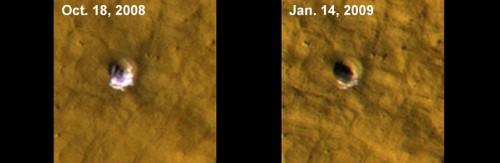 waterijs op Mars