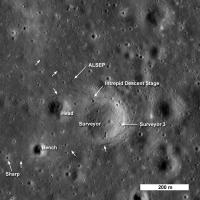 Apollo12 en Surveyor 3