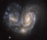 botsende sterrenstelsels