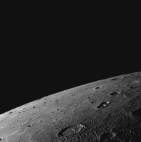 Een close up van Mercurius