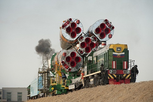 Expeditie 21 Soyuz Rollout