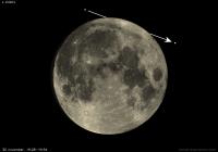 De maan bedekt  ε Arietis