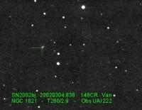 SN 2008bj, variant .Ia supernova