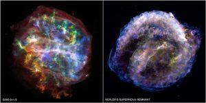 Twee supernovarestanten