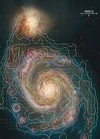 Magnetisch veld Melkwegcentrum nauwkeurig gemeten