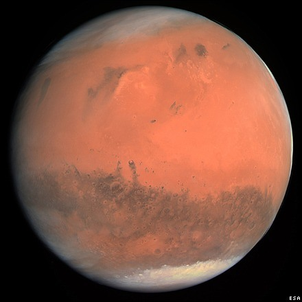 Mars is bijna in oppositie