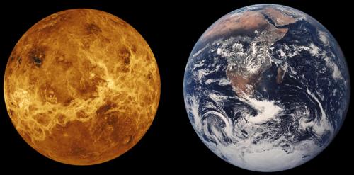 Beïnvloeden Venus en de Aarde elkaar?