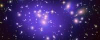 De cluster van sterrenstelsels Abell 1689