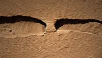 Een natuurlijk brug op Mars