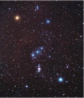 Het wintersterrenbeeld Orion