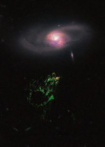 De Hubblefoto van Hanny's Voorwerp