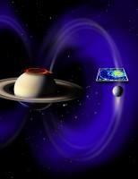 Er loopt een electrische stroom van Enceladus naar Saturnus
