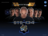 STS-134 als Star Trek