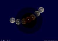De totale maansverduistering van 15 juni 2011