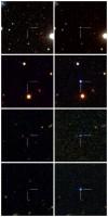 Voorbeelden van de nieuwe soort supernovae