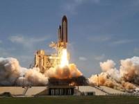 En weg is 'ie, Space Shuttle Atlantis voor z'n laatste vlucht
