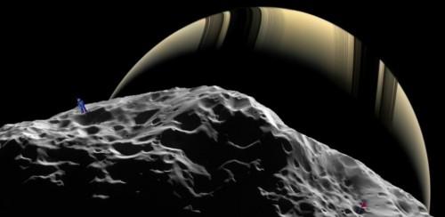 sector 6: een partijtje golf spelen op de maan Hyperion?