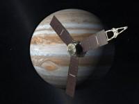 Na koerscorrectie heeft JUNO de planeet Jupiter in z'n vizier