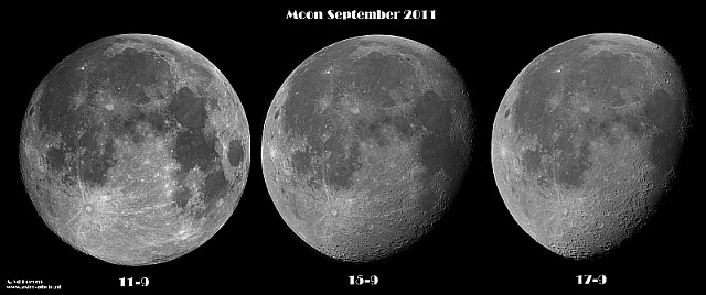 Drie maal de maan door André van der Hoeven