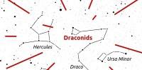 Zorgen de Draconiden voor een meteorenregen op 8 oktober?