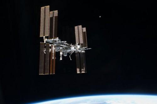 Het ISS moet uitwijken voor ruimteschroot