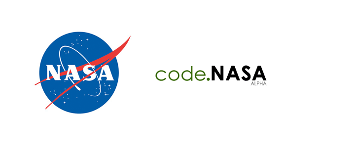 Het logo van code.nasa.gov