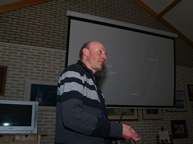 Paul Bakker aan 't woord over het zonnestelsel