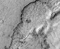 Een olifant op Mars