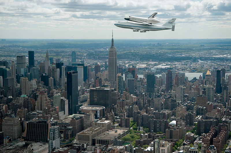 space shuttle enterprise in nyc - photo #4