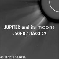 Alles in één video: Jupiter, Ganymedes, Callisto, de Zon, een komeet én een CME