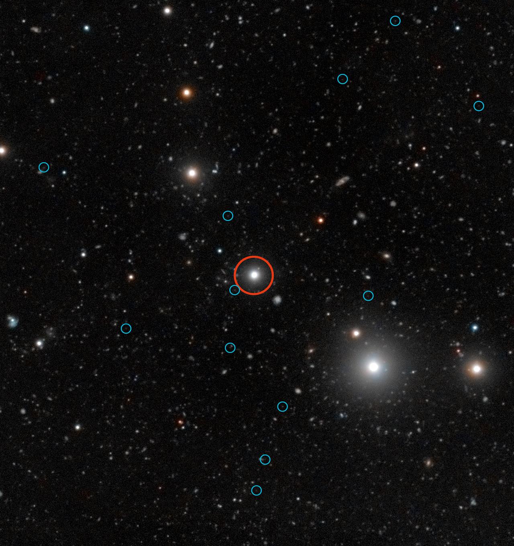 ESO's VLT heeft donkere sterrenstelsels opgespoord in het vroege heelal