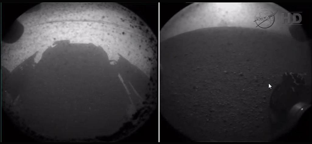 Curiosity op Mars