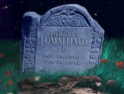 Fomalhaut Back from the Dead