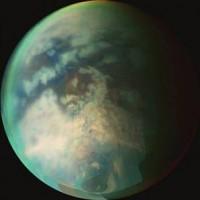 De rivier is ontdekt op de grote, planeetachtige Saturnusmaan Titan
