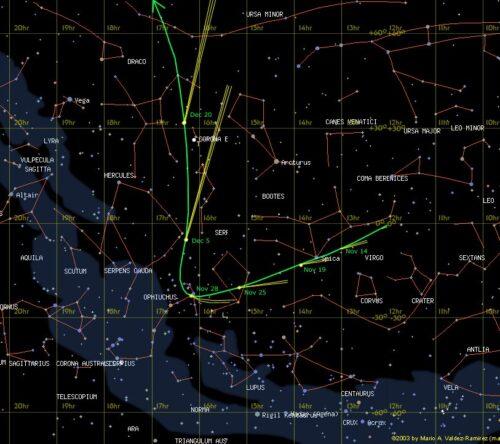 20120925_Comet_ISON_path