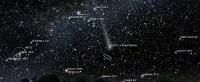 komeet PANSTARRS rond 6 april 2013