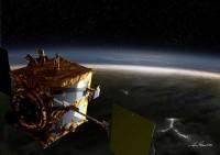 Voorstelling van de Japanse klimaatsonde Akatsuki bij Venus