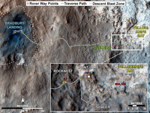 kaart Curiosity