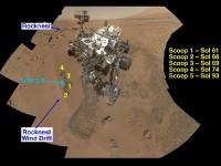 Curiosity vindt complexe chemie op Mars, geen definitieve organische materialen