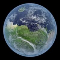 Blauwe Mars