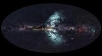 Kern van Melkweg produceert kosmische watervallen