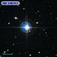 De metaalarme ster HD 140283