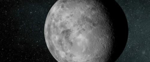 Impressie van de kleine exoplaneet Kepler-37b. (NASA/Ames/JPL-Caltech).