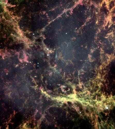 Krabnevel Hubble detail