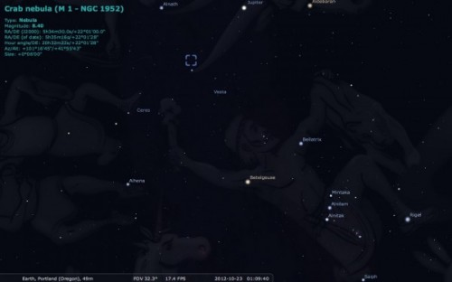 M1 Stellarium