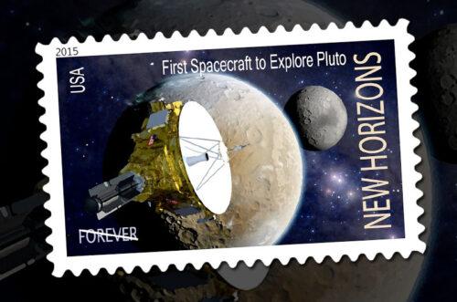 New Horizons postzegel